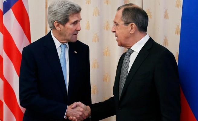 """Кери и Лавров ще обсъждат Сирия, """"Даеш"""" и Украйна"""