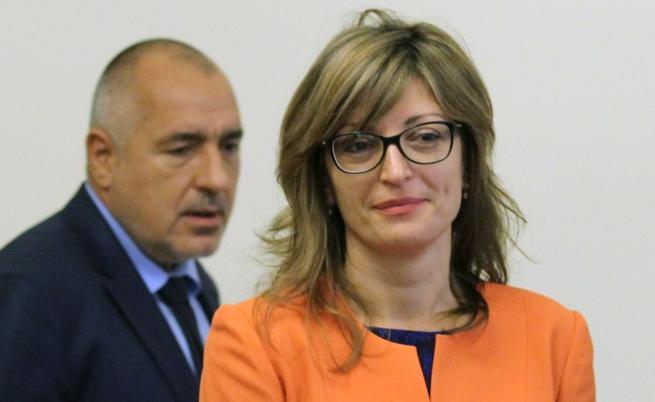 Борисов предложи Екатерина Захариева за правосъден министър