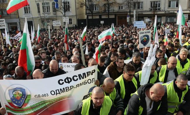 Предишените протести на полицаите бяха през ноември 2015 г.