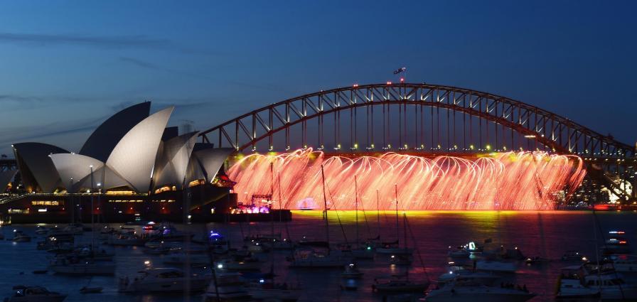 австралия шоу нова година