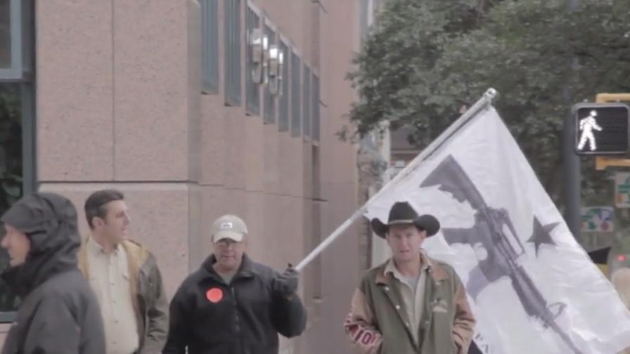 Тексас разреши откритото носене на оръжие