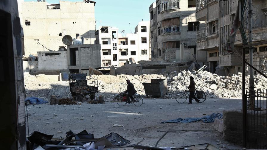 Цяла град в Сирия е изправен пред гладна смърт