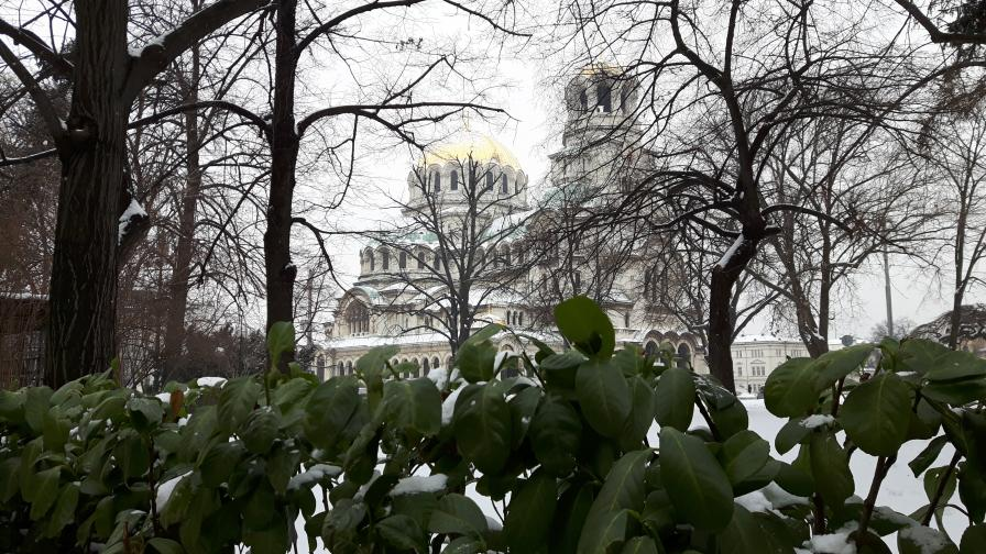 сняг софия
