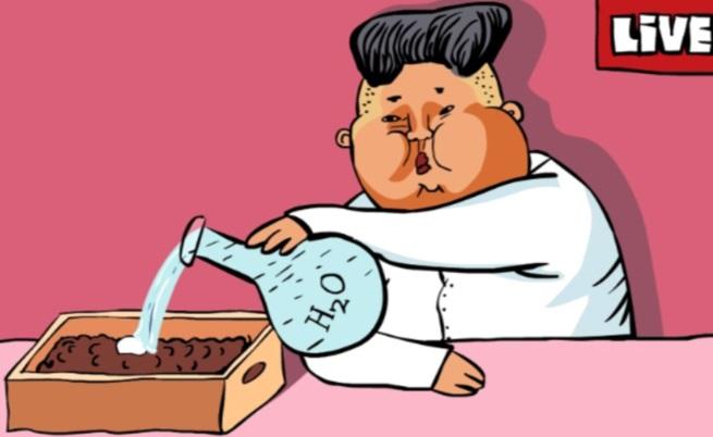 Видеокарикатура: Ким и бомбата