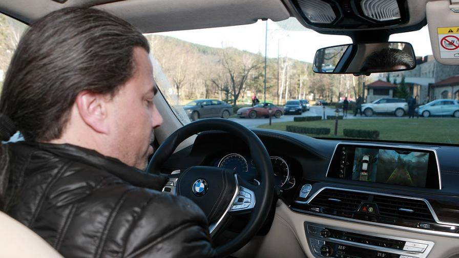 Тест драйв с луксозни автомобили за Годишните автомобилни награди 2016