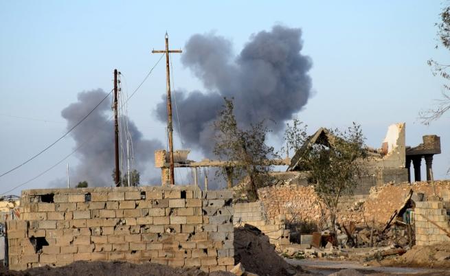 """САЩ унищожава пари в брой на """"Даеш"""" от въздуха"""