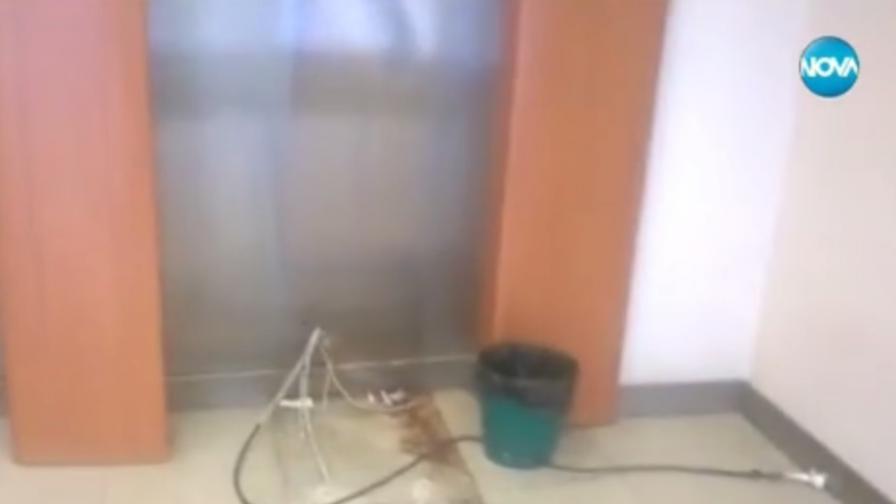 Откраднаха цял банкомат в Банско