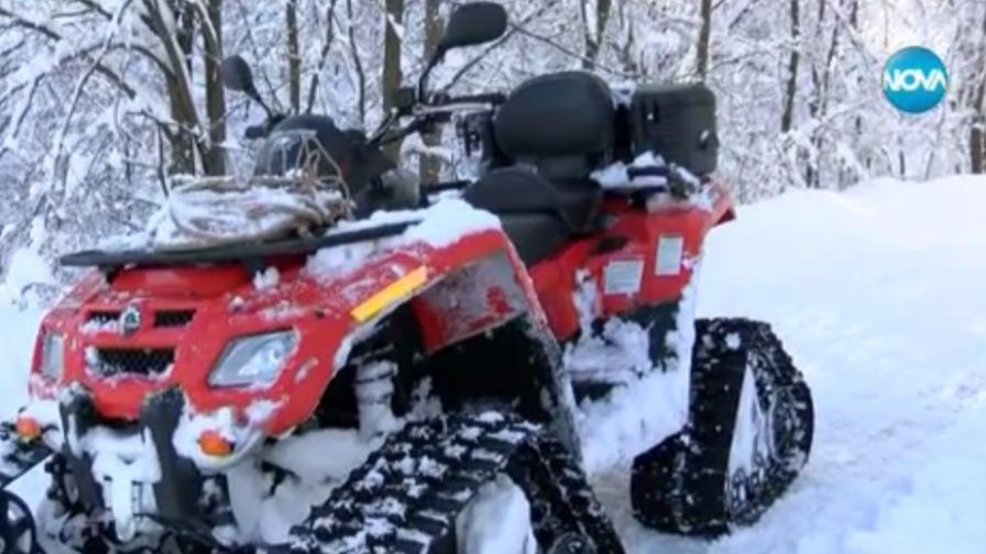 Освободиха бедстващи туристи с дете от снега