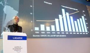 Лагард предупреди Европа да чака 4 милиона емигранти