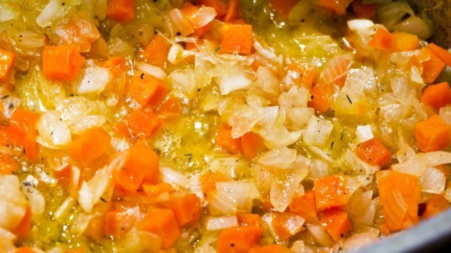 Учени: Пържените зеленчуци са по-полезни от варените