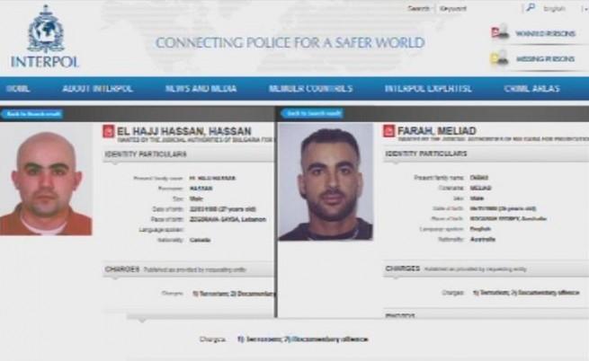 Обвиниха канадец и австралиец за атентата в Бургас