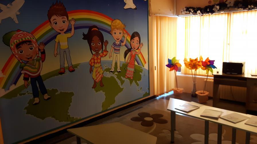 Скубане и бой с пръчка - практика в детска градина