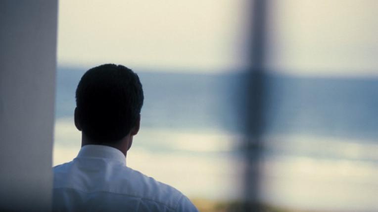 мъж самота отчаяние