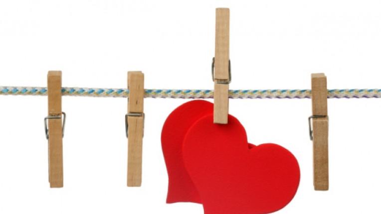 сърце щипка