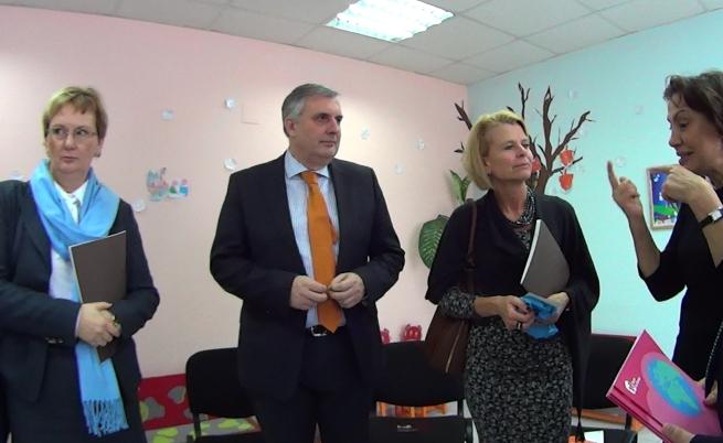 Шведската делегация и вицепремиерът и социален министър Ивайло Калфин се срещнаха с Елена Кабакчиева