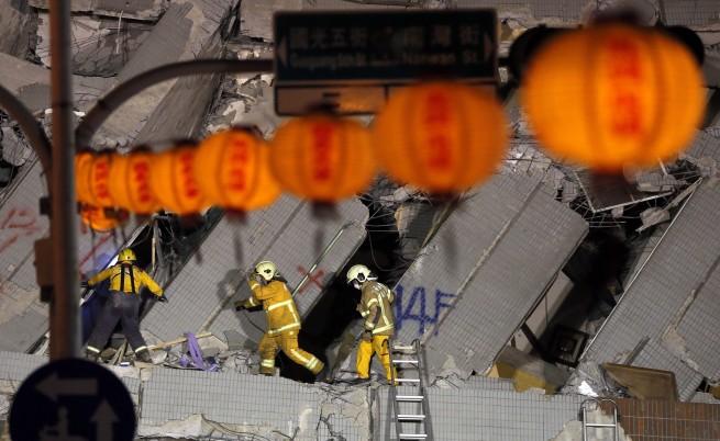 Силни земетресения разтърсиха Тайван и Нова Зеландия