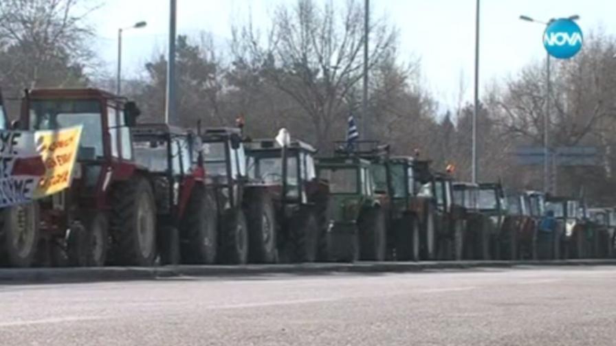 Гръцки фермери с пушка срещу български шофьори