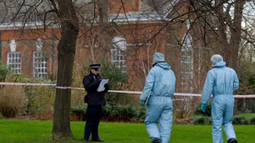 Мъж се самозапали и почина пред двореца Кенсингтън