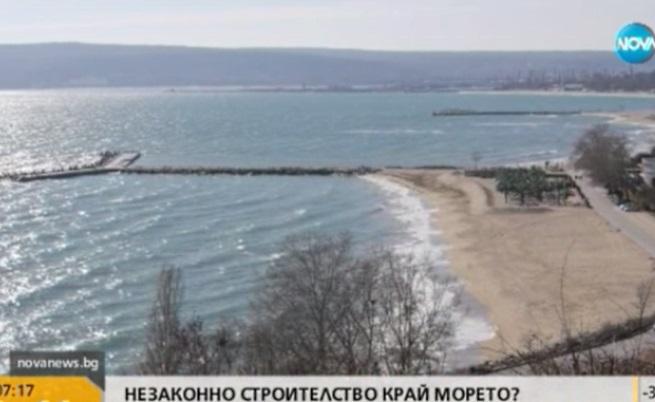 Как се строи в Морската градина във Варна