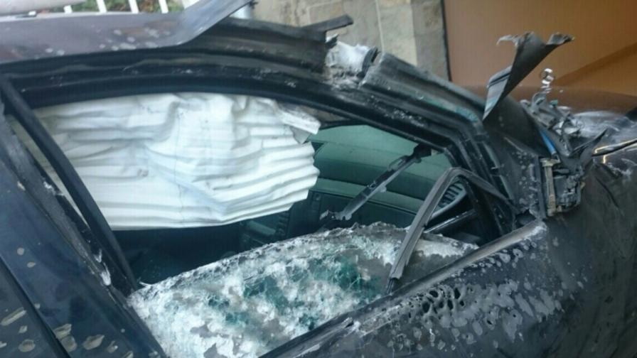 Колата на Алексей Петров след атентата