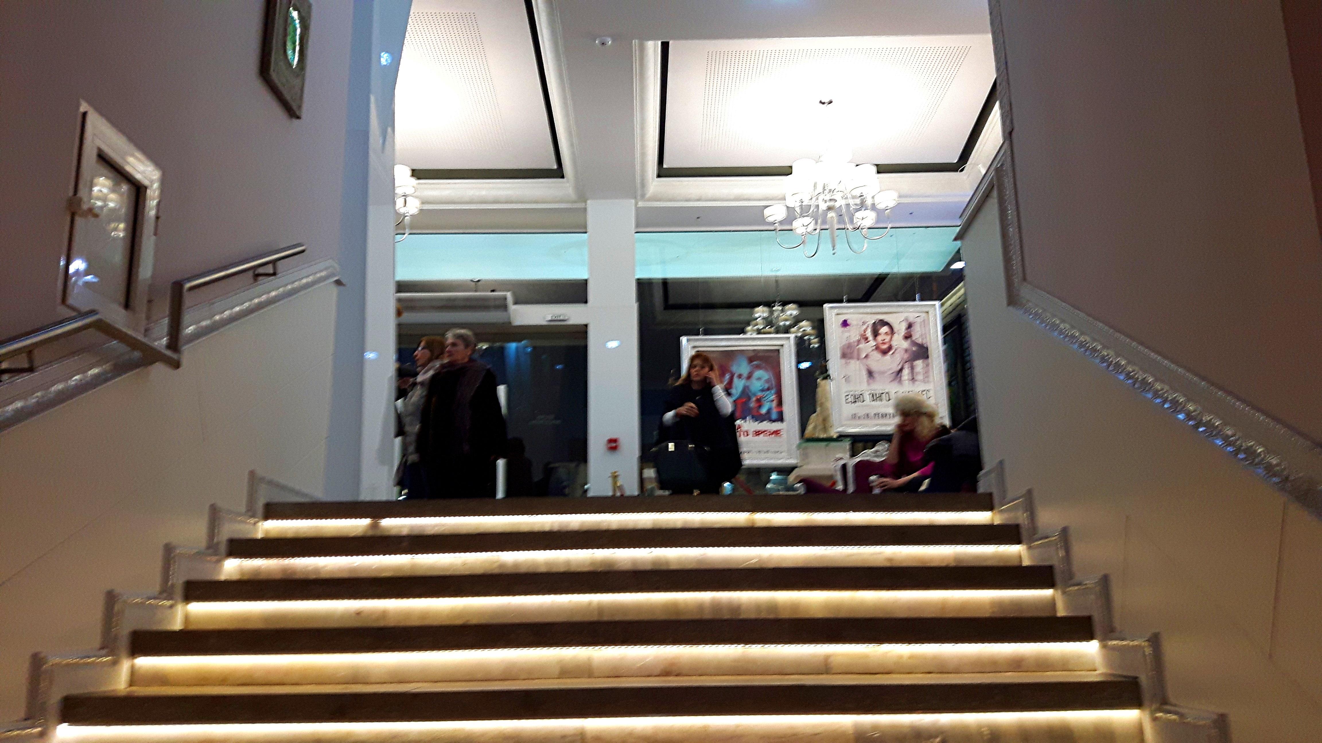 София с ново място за култура в цвят лилав