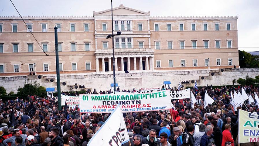 Задава се нова вълна от Гърция: Грекзит