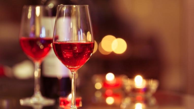 грозде любов вино романтика влюбени
