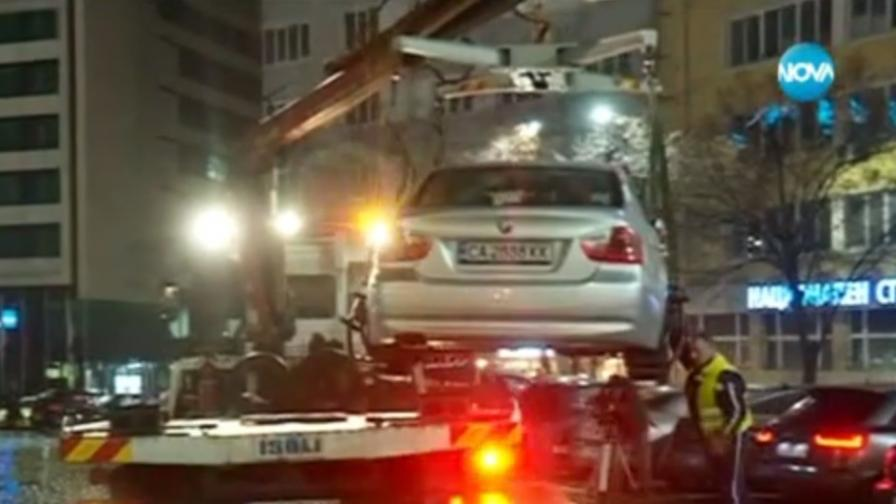Нощни проверки на шофьорите в София