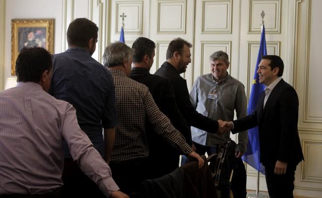 След срещата между Ципрас и фермерите - решение няма