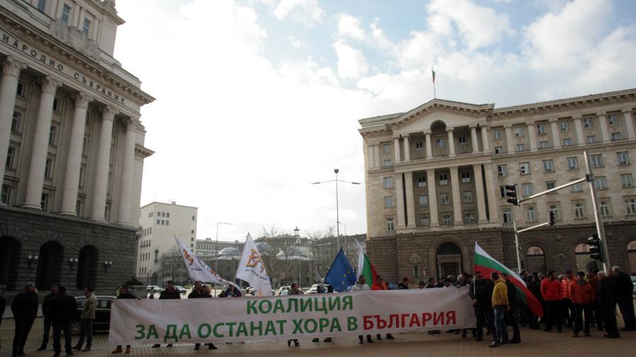 Хотелиери на протест, искат втори лифт в Банско (видео)