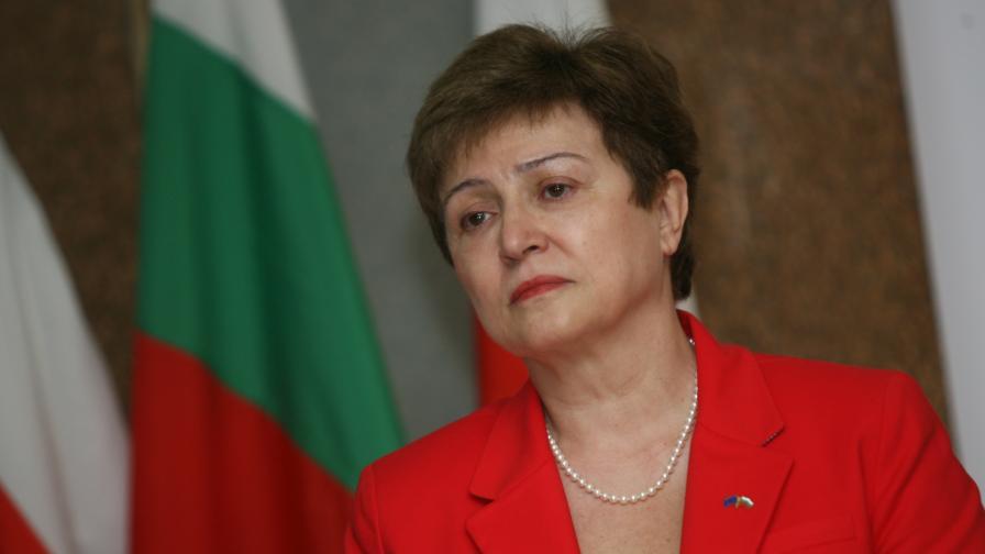 """Ройтерс"": Кристалина Георгиева остава единствен кандидат за директор на МВФ"