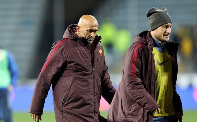 Лучано Спалети и Франческо Тоти<strong> източник: Gulliver/Getty Images</strong>