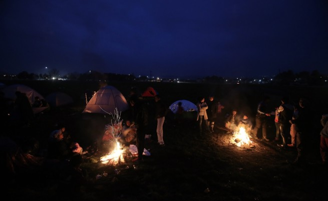 Бежанският лагер в Идомени