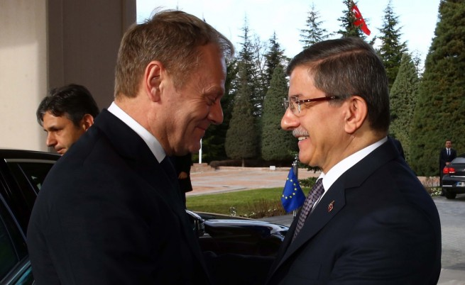 Доналд Туск е обнадежден след срещата с Ахмет Давутоглу