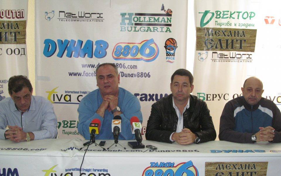БК Дунав 8806: Клубът е осигурен финансово и гони финал