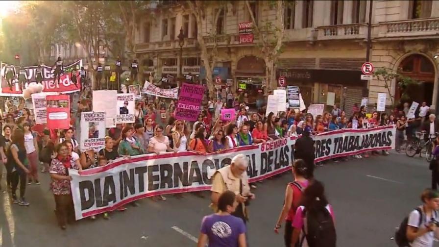 10 000 в Аржентина поискаха законни аборти