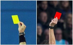 5 червени картона на Фенербахче - Бешикташ
