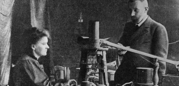Мария и Пиер Кюри