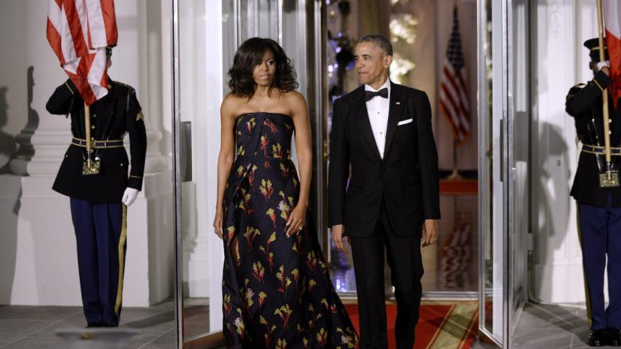 Обама изпрати картичка на Борисов за Коледа