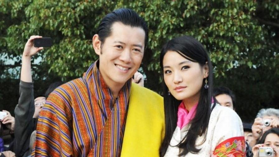 108 000 дръвчета в чест на новия принц на Бутан