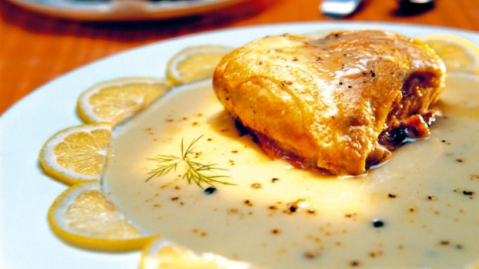 Пиле фрикасе
