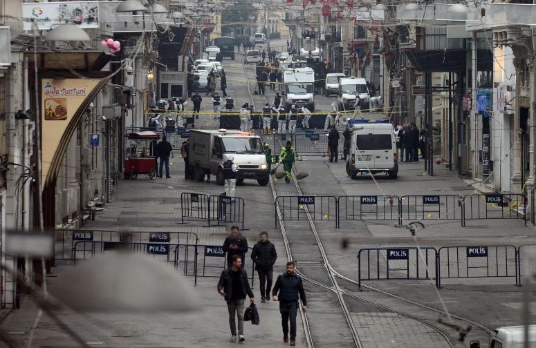 атентат Истанбул