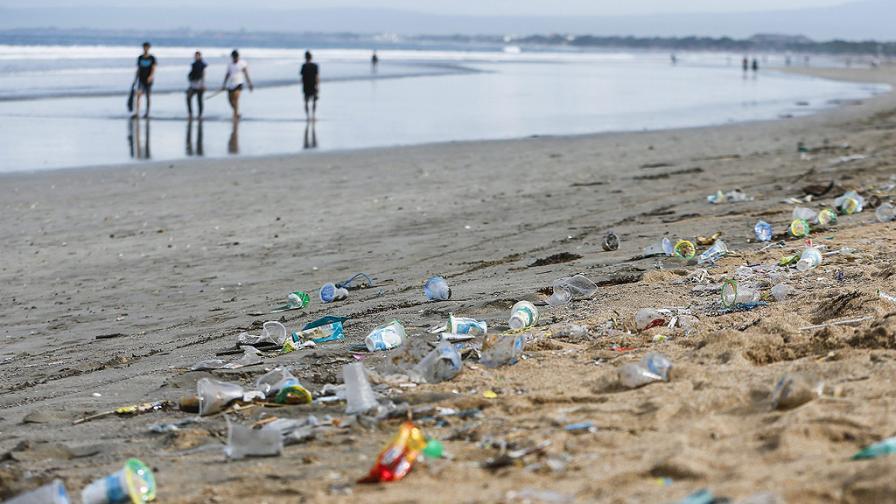 Пластмасата достигна дъното на Марианската падина