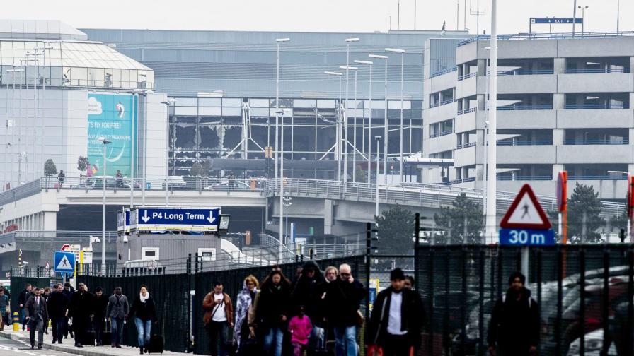 Брюксел остава евакуиран