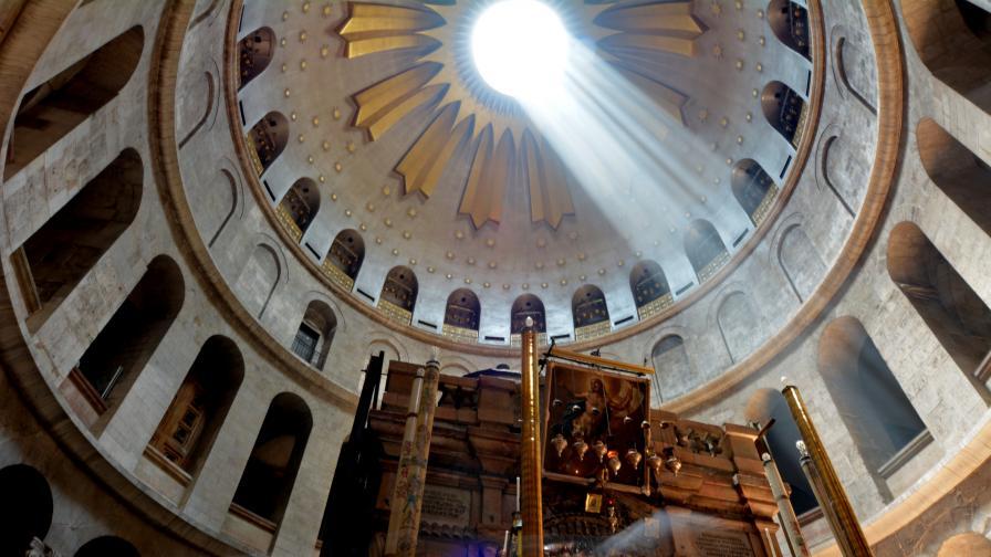 Археолози видяха нещо в Божи гроб, недокосвано от векове