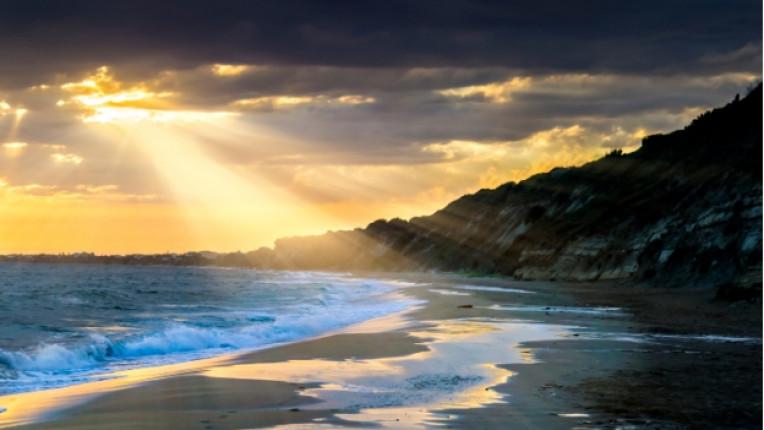 Остров Корфу Гърция море
