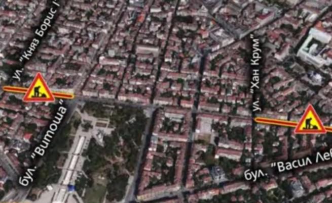 Поредна тапа в София от днес - ремонтират