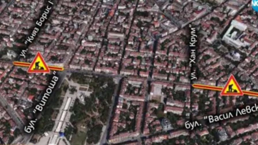 Нови тапи в София с първия работен ден