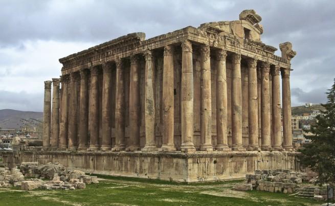 Храмът на Бакхус в Баалбек
