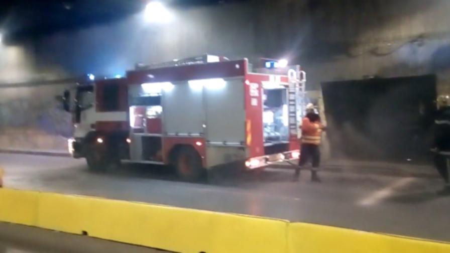 Мъж загина, жена е в болница след пожар в София